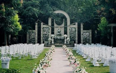 户外草坪婚礼《罗马假日 》