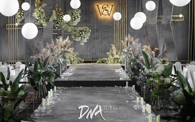 DNA | 【苏州香格里拉】灰金泰式简约大气婚礼
