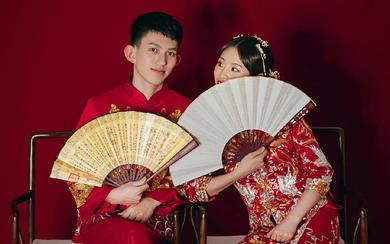 【进部婚纱摄影】中式复古主题·红喜