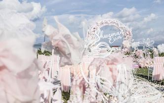 可甜可鹽的夢幻海島婚禮 | 想給你所有甜蜜