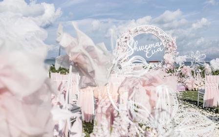 可甜可盐的梦幻海岛婚礼 | 想给你所有甜蜜