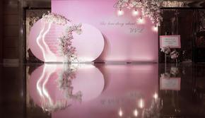 《粉红佳人》粉色系浪漫温馨西式婚礼