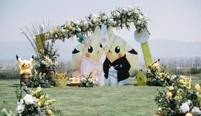 皮卡丘主题* 定制婚礼*