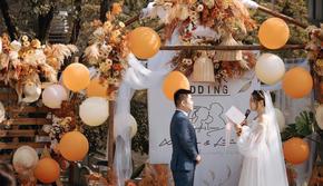 【乡村风】美式复古户外婚礼