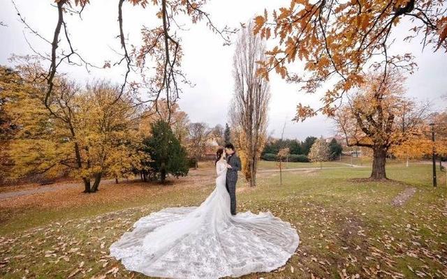 带着嫁衣去旅行,无与伦比的美
