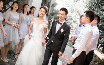 【禾傲文化】专业级单机位婚礼跟拍