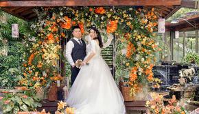 【瑾·婚礼】清新橙色系户外婚礼-告白