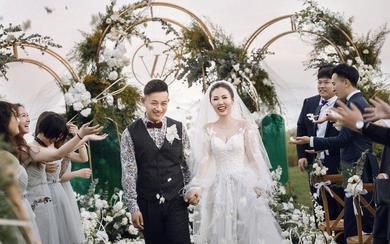 【诗缔户外婚礼作品】西式户外草坪婚礼