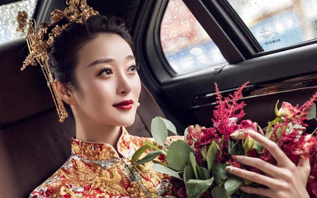 【AMY  新娘婚礼客片】中式出门造型#