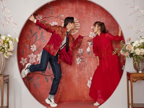 中式我要这样拍~嘻哈中国风+全国包邮+婚嫁大礼包