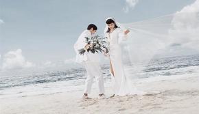 💥海岛婚礼系列💥城市轻旅拍 ♥明星婚照选择