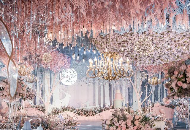 【蓝戒指婚庆】--粉蓝调梦幻婚礼