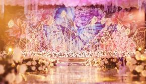 浪漫梦幻奢华蓝色紫色粉色紫嫣