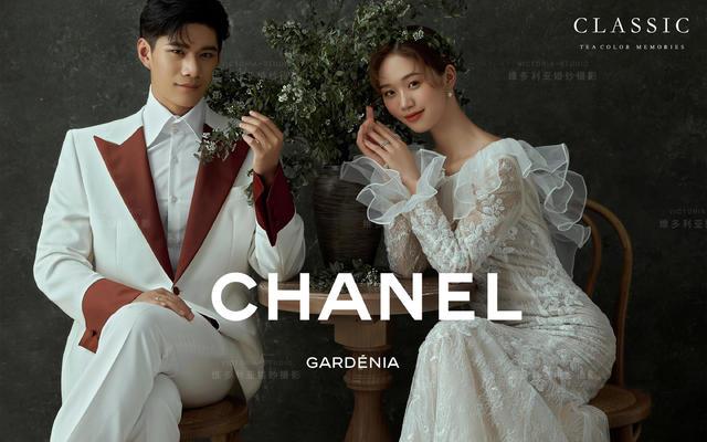 【维多利亚婚纱摄影】电影感法式婚纱照一眼万年
