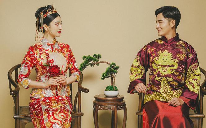 【中式婚照】复古轻奢中国风