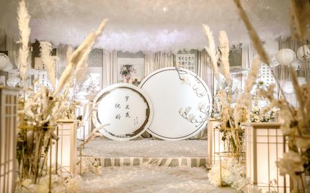 内江一期一会新中式香槟色系复古婚礼
