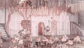 【限时团购】高性价比粉色系婚礼(含人员)