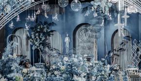 【喜适婚礼】蓝色海洋风主题婚礼,预约免费领婚礼预