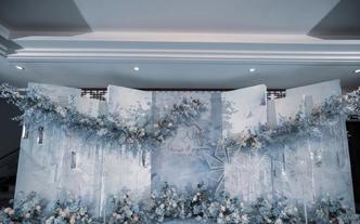 【蓝色治愈系婚礼】阳江超高性价比婚礼