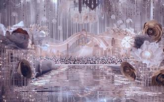 【珍妮罗曼】香槟灰唯美婚礼