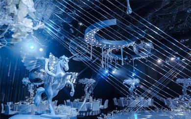 星空独角兽主题宝宝宴丨<Unicorn>