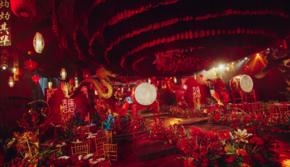 【喜糖婚礼】山西长治  中式/奢华/红金