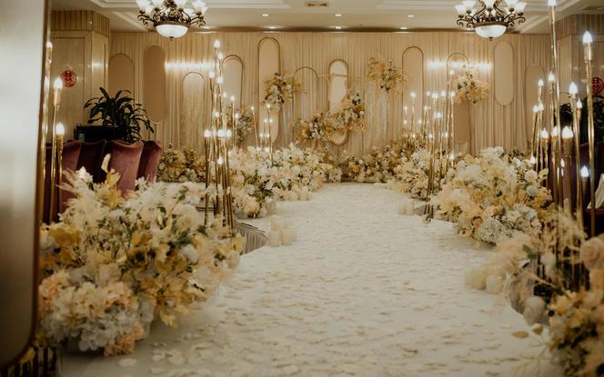 【今与宴会设计】香槟色轻奢超值套餐