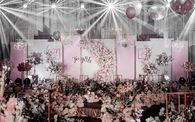 【倾城婚礼定制】---梦幻粉色主题婚礼