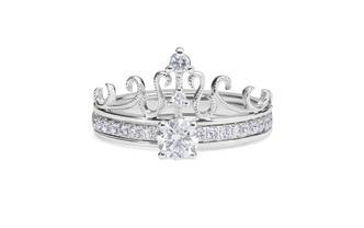 梵尼洛芙-玛利亚 丨叠戴皇冠设计款钻戒