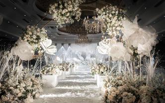 造梦者-「拾忆」香槟色高端主题质感婚礼