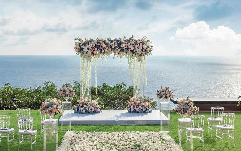 【卡罗婚礼 】微婚礼 含场地+全鲜花布置