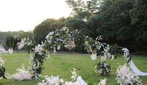 【户外草坪婚礼】白绿色系/小众婚礼