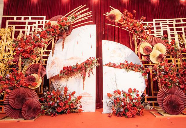 【创意中式婚礼】金花银钿红罗帕