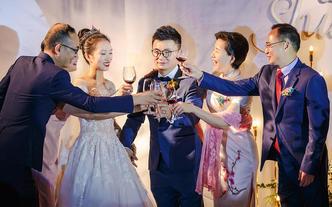 【超高人气】单摄像+单摄影婚礼跟拍套餐、双机组合