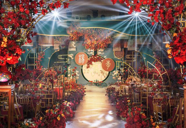 【阿兰高端婚礼定制】红金新中式系列主题婚礼