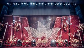 【记忆婚礼】一款暖暖的红色轻奢婚礼!