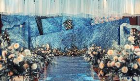 【蓝色圆舞曲】_爆款蓝色系列婚礼送四大金刚
