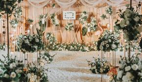 香槟色小清新  甬上红妆婚礼策划
