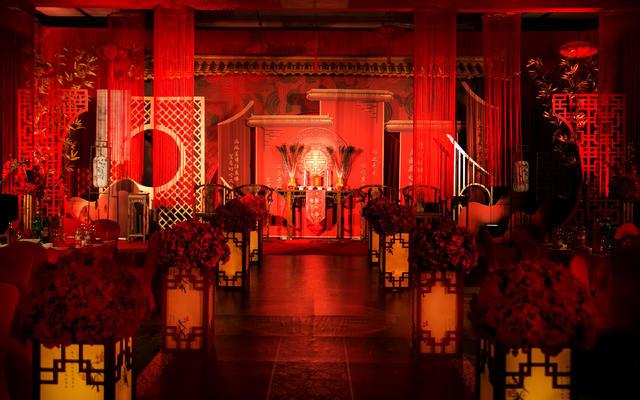 【尚喜宝】红色室内中式大气婚礼