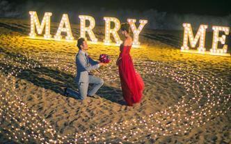 康年网红场地求婚套餐 吃住求婚一价包