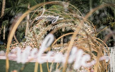 三亚海边草坪婚礼 | 萦绕