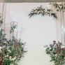 韩系简约小清新 白绿森系 婚礼