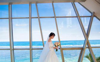 爱旅巴厘岛婚礼-萨玛贝珍珠教堂-一价全含升级布置
