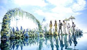 巴厘岛庄园水台婚礼【明星同款5天4晚一价全包】