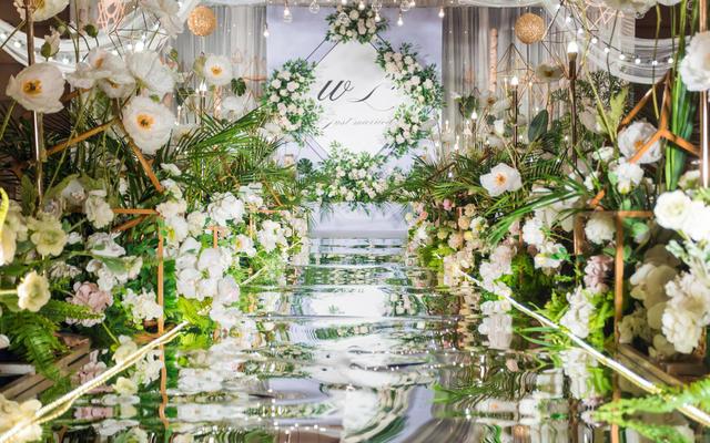 森系婚礼  ▎ 复古森林清新婚礼
