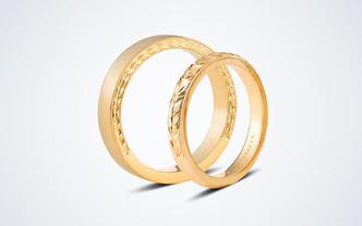 梵尼洛芙-麦穗 原创设计18k金结婚对戒