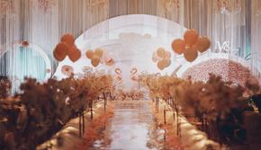 致我们暖暖的小时光 安徽百万新娘人气推荐送泡泡机