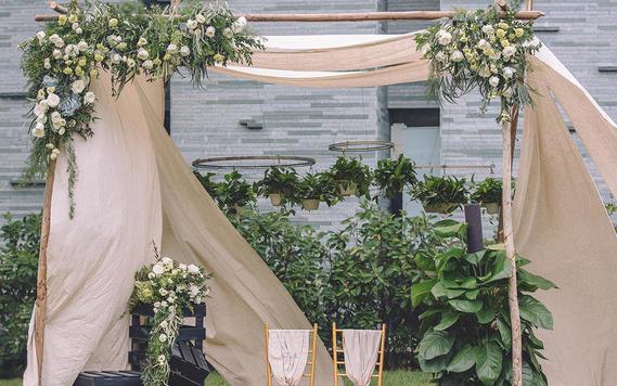 森系婚礼之选 静谧邂逅小清新婚礼