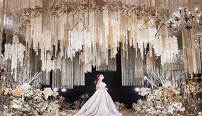 不规则舞台环岛型设计全方位体验婚礼