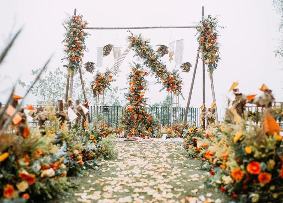 铅山cc婚礼--春暖花开